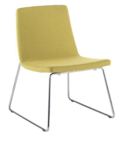 Mars Designer Chair With Sled Frame