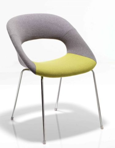 Oyster Designer Four Leg Chair