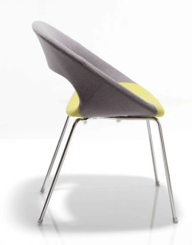 Oyster Designer Chair Side View