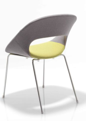 Oyster Designer Chair Rear View