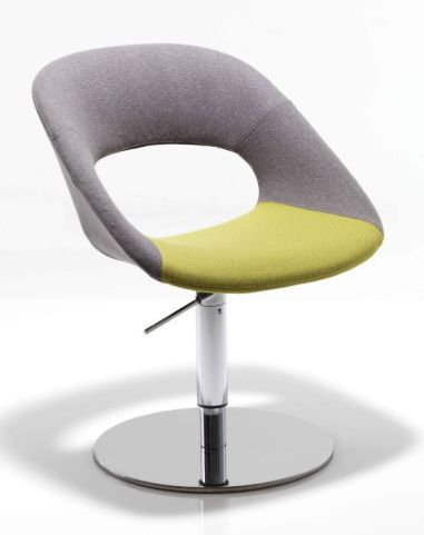 Oyster Designer Chair On A Height Adjustable Pedestal Base