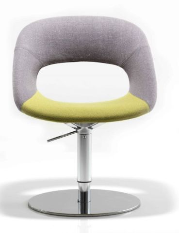 Oyster Designer Chair With A Pedestal Base