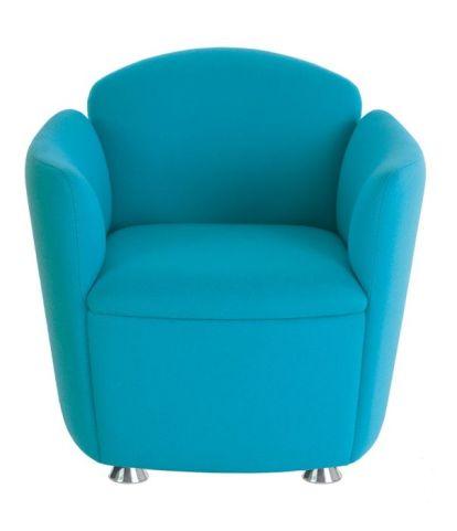 Toto Tub Chair With Chrome Feet