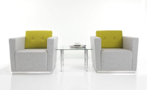 Seria Single Seater Sofas And Coffee Table Set