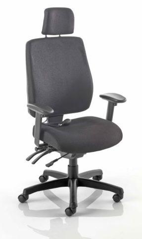 Performer High Back Upholsterd Task Chair