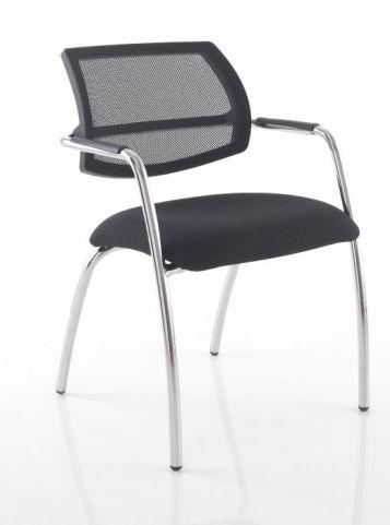 Jaxa Designer Mesh Back Conference Chair