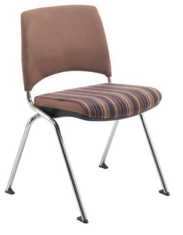 Flip Stack Fully Upholstered Side Chair