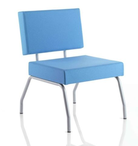 Elise Low Chair In Blue