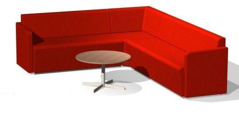 Totem Corner Sofa Arrangement