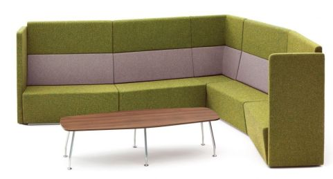 Totem Modular Sofas With Extra High Back Arrangement