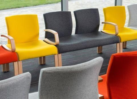 Novo Wood Framed Low Seating Mood Shot