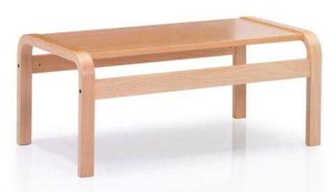 Novo Rectangular Wooden Coffee Table