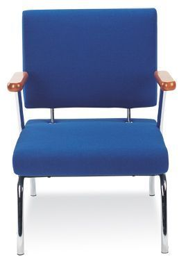 Konnect Chair With Arms Front View