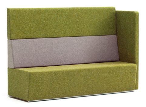 Totem Modular Sofa With An Extra High Back And Single Arm