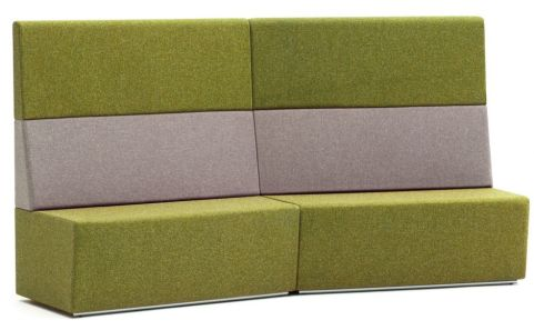 Totem Concave Four Seater Sofa With An Extra High Back