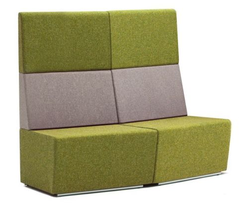 Totem Convex Curved Modular Sofas With An Extra High Back