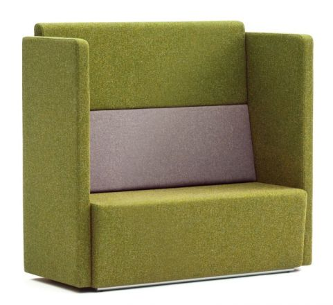 Totem Modular Designer Sofa With An Extra High Back And Two Arms