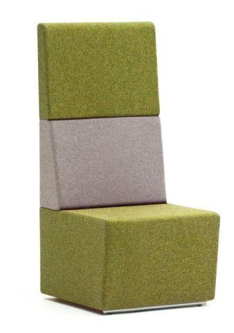 Totem Single Seater Modular Sofa With An Extra High Back