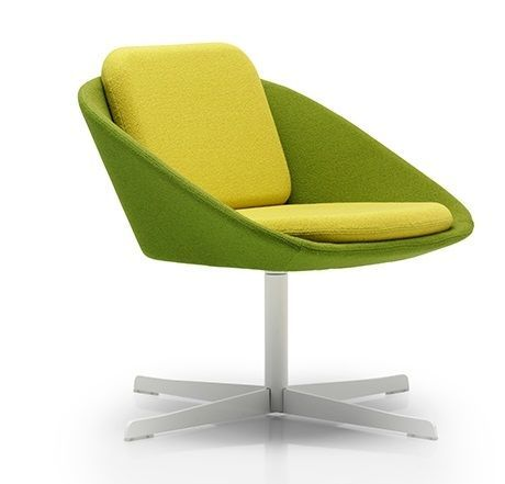 Squish Designer Chair On A White Four Star Base