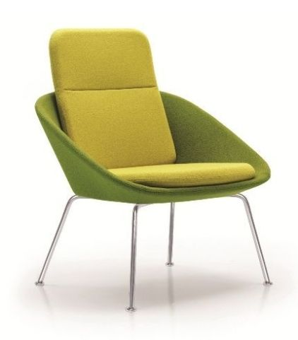 Squish Designer Chair With An Extra High Back