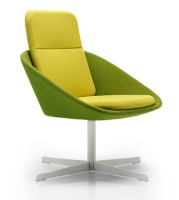 Squish Designer Chair With An Extra High Back And White Four Star Base