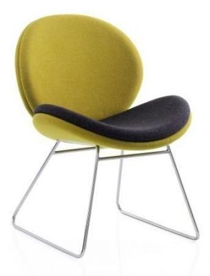 Giggler Designer Chair With A Skid Frame