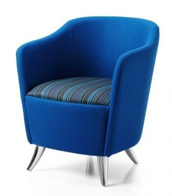 Solace Tub Chair V2 Two Tone Fabric Option