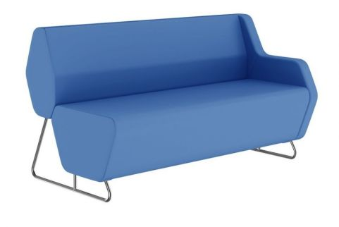 Hex Sofa With A Low Back And Single Left Hand Arm