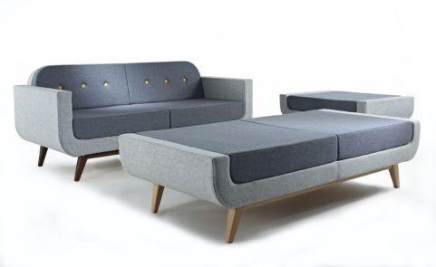 Kola Bench And Sofa Set