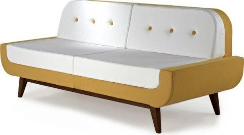Kola Bench Seating Two Tone Fabric Options