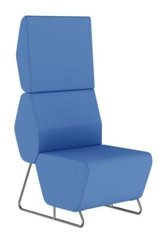 Hex Single Modular Sofa With An Extra High Back