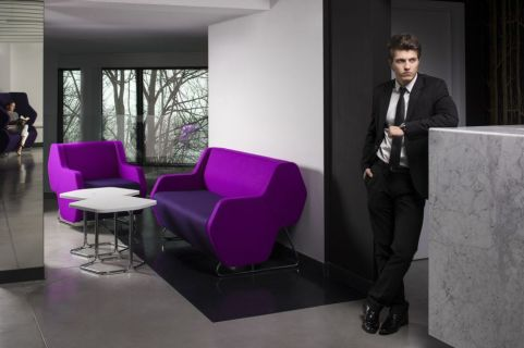 Hex Modular Sofa On Site