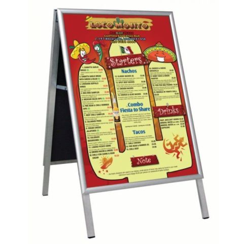 Portable Easy Grip Indoor A Frame Sign