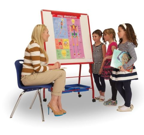 Rainbow Mobile Whiteboard Easel