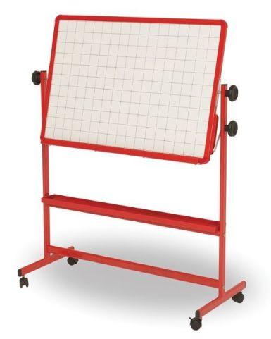 Tilt And Teach Mobile Classroom Board Red Frame