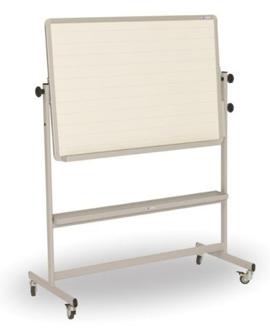 Tilt And Teach Mobile Classroom Writing Board Grey Frame