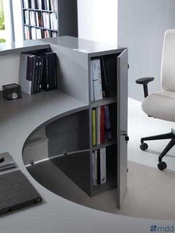 Valde Reception Desk Rear Shot