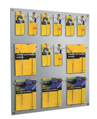 Focus Leaflet Holder With Small And Large Hooks