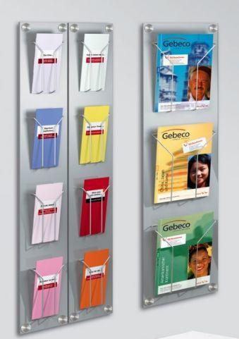 Artline Wall Mounted Leaflet Displays