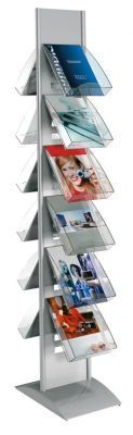 Tec Art Freestanding BROCHURE DISPLAY