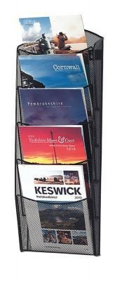 Ultra Wall Mounted Leaflet Display 5 X A4