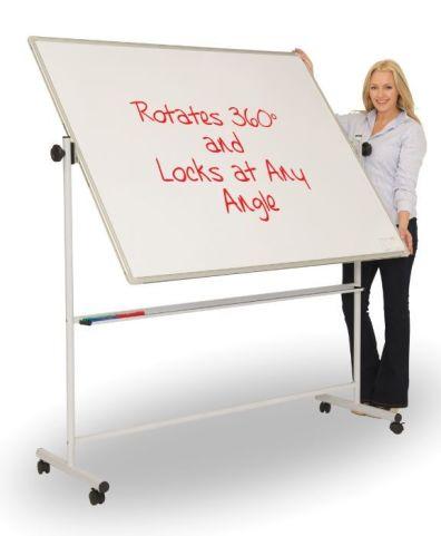 Ultra Mobile Swivel Whiteboard
