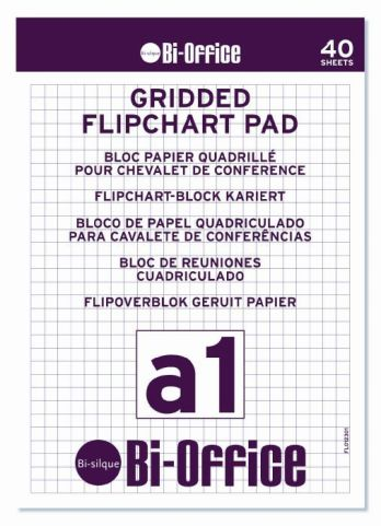 Flip Chart Pads Gridded