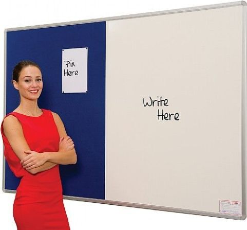 Ultra Combination Noticeboard And Whiteboard