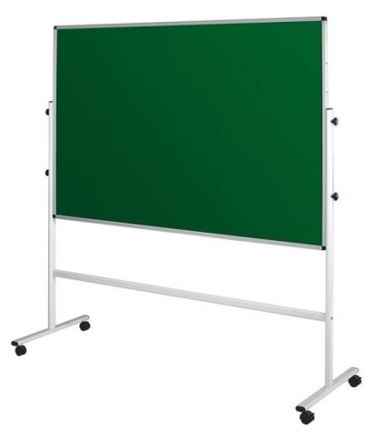 Sq Double Sided Mobile Freestanding Noticeboards