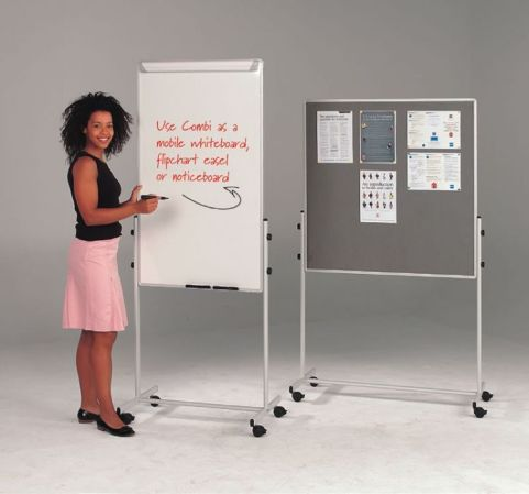 Sq Whiteboard And Noticeboard Combination