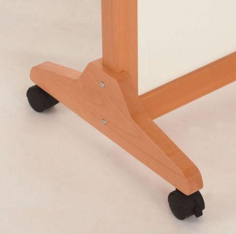 Vector Wooden Stabilser Feet With Castors