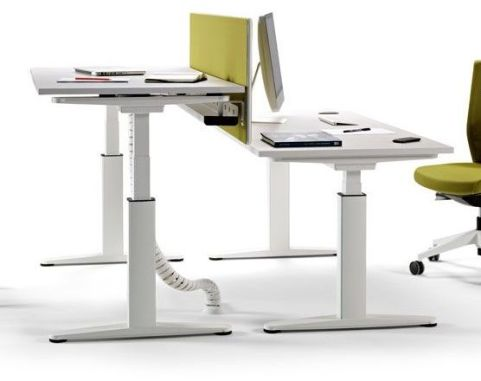Ergox Electronic Double Height Adjustable Ddesks
