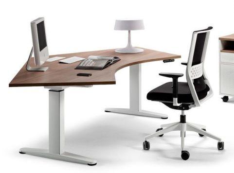 Ergo X Electronic Height Adjustable Pentagon Desk