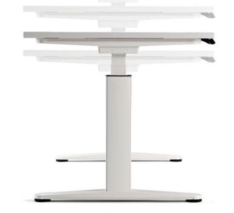 Ergo X Height Adjustable Table Detail Shot